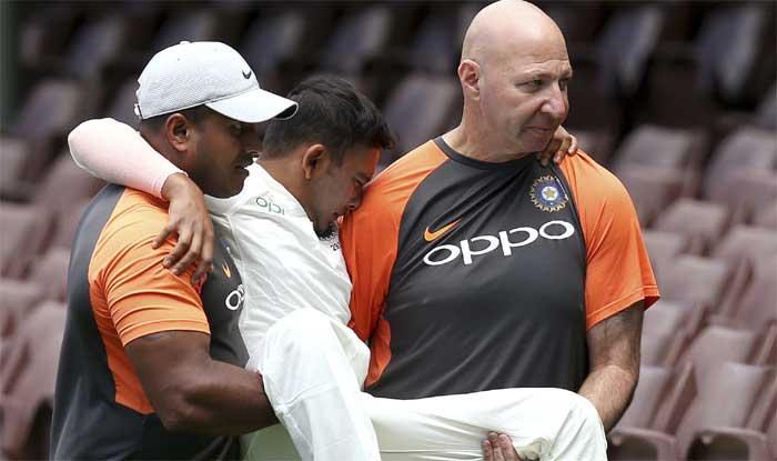 India vs Cricket Australia XI: Prithvi Shaw Picks up Horrific Ankle In...