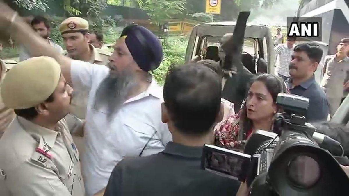 1984 Anti-Sikh Riot Protest: Delhi Police Detains Union Minister Harsi...
