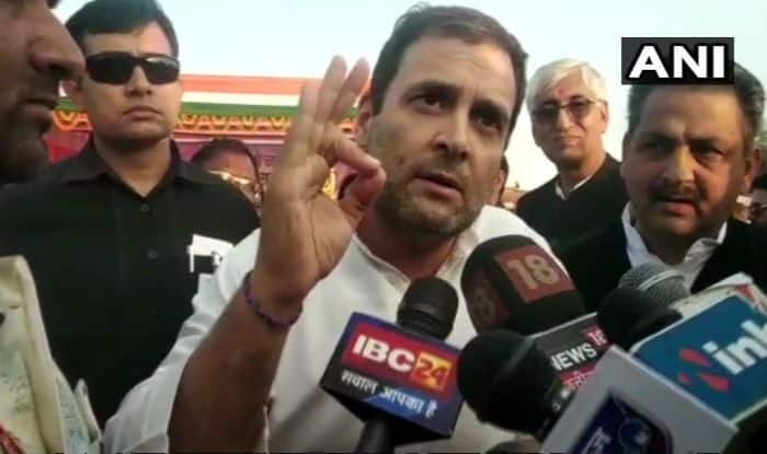 Rahul Gandhi Rejects Ram Mandir Issue, Says Corruption And Unemployment Narrative For 2019 Lok Sabha Elections