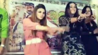 Bhojpuri Sizzler Rani Chatterjee And Drama Queen Rakhi Sawant Flaunt Their Hot Thumkas During Rani Weds Raja Music Launch Event - Watch Video