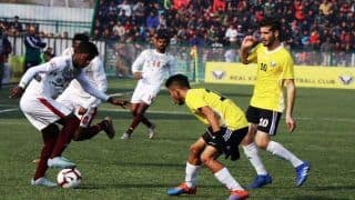 I-League 2018-19: Real Kashmir FC Beat Mohun Bagan 2-1, Keep Title Hopes Alive in Maiden Season