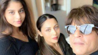Shah Rukh Khan Shares a Selfie Along With Wife Gauri Khan And Daughter Suhana Khan as They Bid Goodbye to New York - See Picture