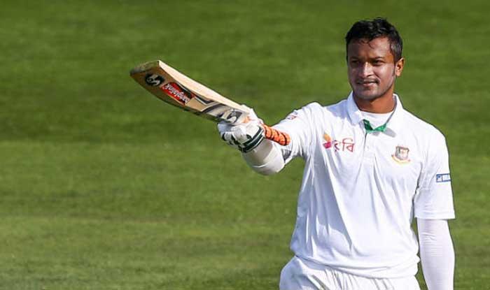 Shakib ruled out of Dhaka Test