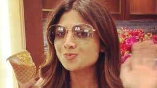 Shilpa Shetty Enjoys 24K Gold Plated Ice-Cream While Holidaying in Hong Kong; Watch Video