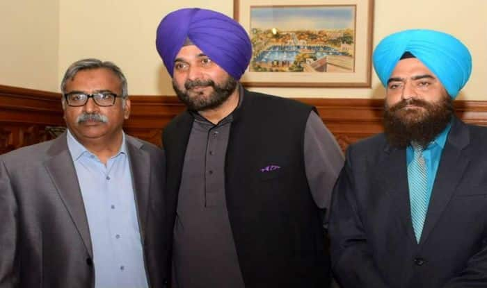 Navjot Singh Sidhu Runs Into Controversy For Posing With Sikh Militant...