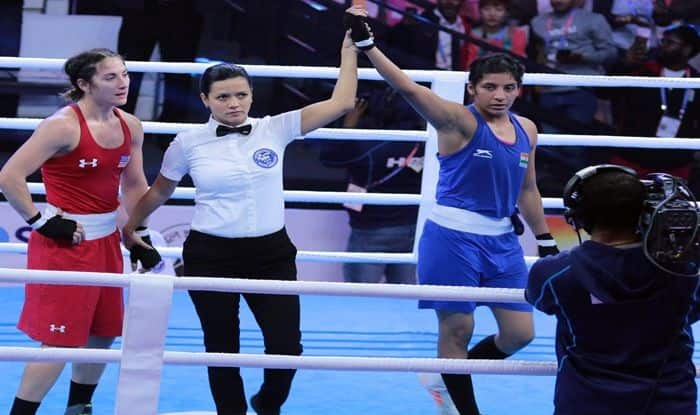 AIBA World Championship Sonia Lather Advances To Pre Quarters