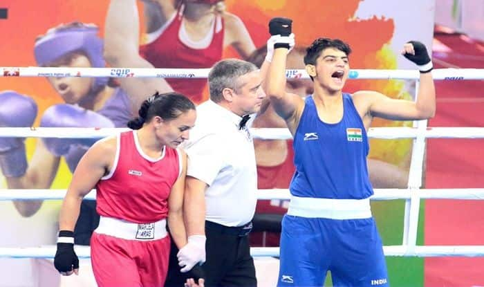 Sonia Chahal joins Mary Kom in the final, Simranjit settles for bronze