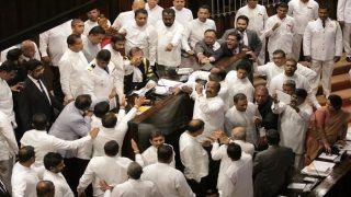 Sri Lanka Crisis: MPs Hurl Chilli Powder, Chairs in Parliament Commotion
