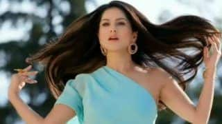 Sunny Leone Looks Hotter Than Hot in Blue Pastel Dress as She Flaunts Her Good Hair Day in This Slow-mo Video - Watch