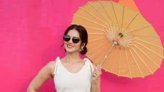 Sunny Leone Looks Hot AF in White Top And Yellow Skirt as She Poses on The Sets of Splitsvilla 11 - See Pictures