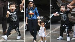 Taimur Ali Khan And Inaaya Naumi Kemmu's Latest Pics Are The Epic Description of Cute And Adorable