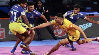 प्रो कबड्डी 2018: तमिल थलाइवाज का शानदार प्रदर्शन, तेलुगू टाइटंस को 27-23 से हराया