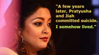 Tanushree Dutta-Nana Patekar Sexual Harassment Case Update: Actress' Latest Statement Has Names of Pratyusha Banerjee And Jiah Khan to Explain How She Fought Hard