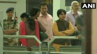 Sabarimala Temple Row: Social Activist Trupti Desai Arrives at Cochin Airport Ahead of November 17 Visit to Lord Ayyappa Shrine; Protests Erupt