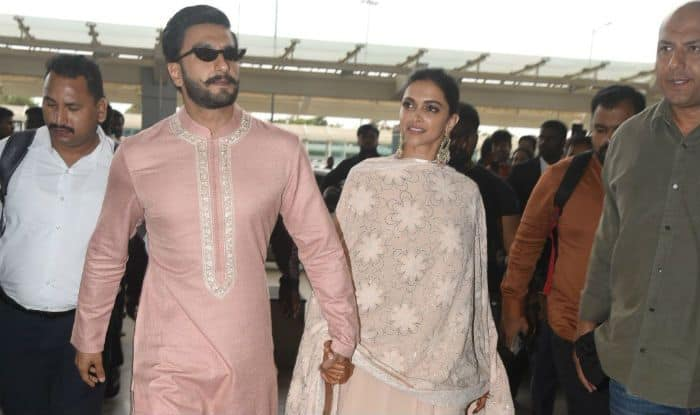 Deepika and Ranveer return to Mumbai after Bengaluru reception