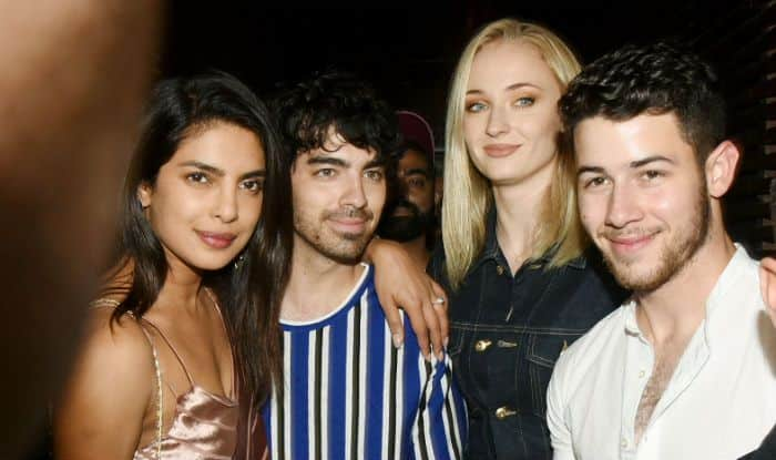 Joe Jonas and Sophie Turner in Mumbai for Nick and Priyanka's wedding