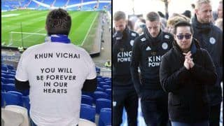 Premier League Clubs Join Hands to Honour Late Leicester City Chairman Vichai Srivaddhanaprabha--Watch Video