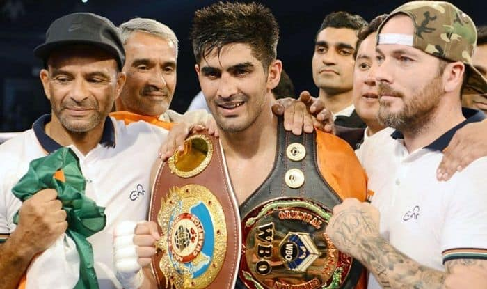 Ace Boxer Vijender Singh Signs up With Bob Arum, Set For US Debut Next Year