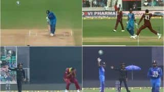 India vs West Indies 5th ODI: Virat Kohli Calls Rohit Sharma Back After Oshane Thomas Delivers a Massive No-Ball | WATCH VIDEO