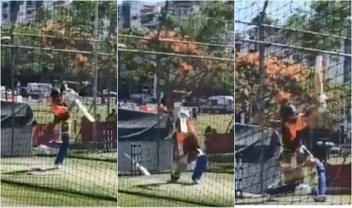 2nd ODI Adelaide: India Captain Virat Kohli Issues Warning to Aaron Finch-Led Australia With Big Hits During Net Session | WATCH VIDEO