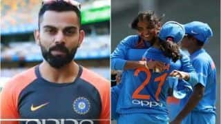 ICC Women's World T20 2018, India Women vs England Women: Virat Kohli, Ravi Shastri Wish Harmanpreet Kaur-Led Indian Team Ahead of Semifinal Against England | WATCH VIDEO