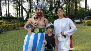 Aamir Khan, Kiran Rao and Son Azad Rao Look Cute as They Are Dressed as Asterix Characters, See Pictures