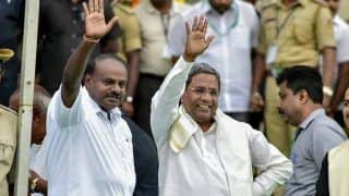 Another Crisis in Karnataka? CM Kumaraswamy Threatens to Resign as Siddaramaiah Camp Sings Paeans Wanting Him as Chief Minister