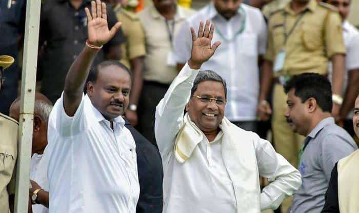 Karnataka Political Turmoil: Will Form Government if Coalition Collapses, Claims BJP; Congress Says 'We Are Intact'