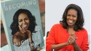 मिशेल ओबामा की किताब 'Becoming' ने तोड़े बिक्री के रिकॉर्ड, एक हफ्ते में बिक गईं 14 लाख से अधिक प्रतियां