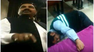 यूपी: BJP नेता की अभद्रता से अधिकारी की हालत बिगड़ी, बेहोशी की हालत में ट्रॉमा में भर्ती