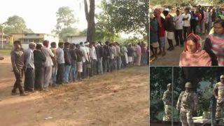 कड़ी सुरक्षा के बीच 3:00 बजे तक 47.18 फीसदी हुई वोटिंग, 15 साल बाद हुआ एक गांव में मतदान