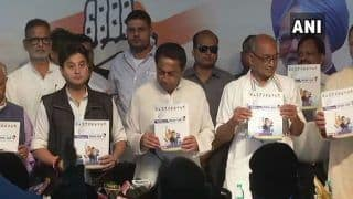 Madhya Pradesh Assembly Election 2018: Congress Releases Party Manifesto; Promises to Reduce Fuel Prices