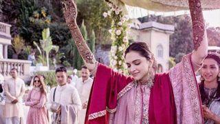 PICS: मेहंदी सेरेमनी में दीपिका पादुकोण ने किया था इस गाने पर डांस, आप भी सुनकर नाच उठेंगे!
