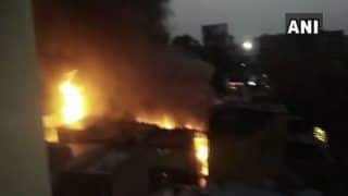 Maharashtra: Fire Breaks Out at Fibre Factory in Pune; Fire Tenders at Spot