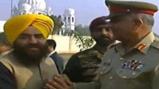 Kartarpur Ceremony: As Imran Khan Talks of Peace, Khalistani Terrorist Shakes Hands With Pak Army Chief