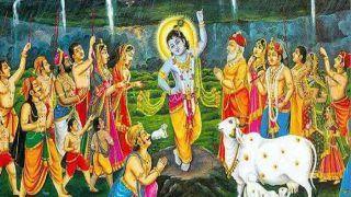 Goverdhan Puja 2018: गोवर्धन पूजन के आज तीन मुहूर्त, जानिये विधि और कथा