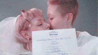 जैकी चैन की बेटी ने 12 साल बड़ी गर्लफ्रेंड से की शादी, लिखा- प्यार की जीत हुई