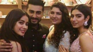 Janhvi Kapoor Talks About Bonding With Arjun Kapoor And Anshula Kapoor After Mother Sridevi's Death