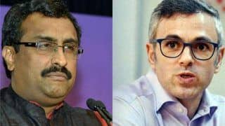 Jammu And Kashmir Assembly Dissolution: Ram Madhav Says PDP, NC Working on 'Instructions' From Pakistan, Omar Abdullah Dares Him to Prove Charges