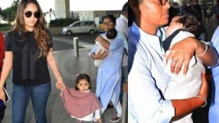 Shahid Kapoor's Wife, Mira Rajput Kapoor Jets Out of Airport With Misha Kapoor And Zain Kapoor, Their Latest Pics Are Now Viral on Internet