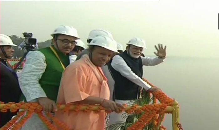 PM Narendra Modi inaugurated two major national highways
