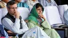 MHA Reaches Out to Omar, Mehbooba, Seeks Support to Maintain Peace in Valley : Reports