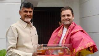 Telangana Assembly Election 2018: Chandrababu Naidu to Campaign With Rahul on November 28
