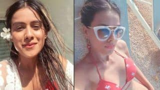 Second Sexiest Asian Woman Nia Sharma in Red Bikini Prove That She is the Hottest And Boldest Actress in Television Industry-See Pics