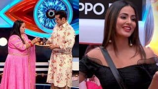 Bigg Boss 12 Weekend Ka Vaar November 3 Episode Written Updates: Bharti Singh Celebrates Karva Chauth With Salman Khan, Hina Khan Interacts With Housemates