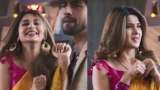 Bepannaah Stars Jennifer Winget, Harshad Chopda Aka Zoya And Aditya Look Cute as They Fake Their Fight, Watch
