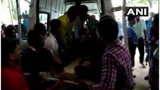 दंतेवाड़ा में नक्सलियों ने बारूदी सुरंग में विस्फोट कर बस उड़ाई, जवान शहीद, तीन नागरिकों की मौत