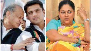 BJP का कांग्रेस पर हमला, 'जनता तय कर चुकी है कि गहलोत दिल्ली व पायलट घर लौट जाएं'