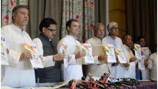 छत्तीसगढ़ चुनाव: कांग्रेस के घोषणापत्र में कर्जमाफी, शराबबंदी और एक रुपए किलो चावल का वादा