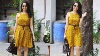 Shraddha Kapoor ने पहनी पीले रंग की फ्लोरल ड्रेस, बेहद दिलकश हैं ये PHOTOS